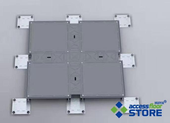 Low Profile Raised Access Floor System