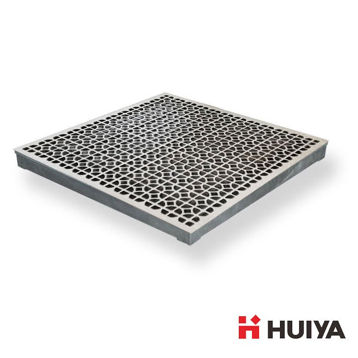 55% Airflow Aluminum Raised Floor Grille Panels