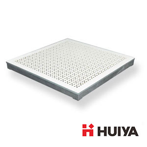 Aluminum Grate Raised Floor