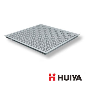 Aluminum Grill Raised Floor