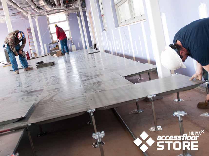 Access Floor Systems Installation Tutorial In Data Center