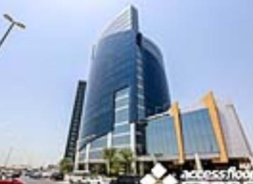 International Business Tower Raised Floor Project in Dubai