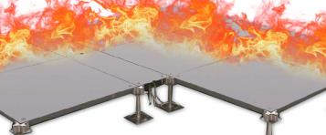 Raised Access Floor Fire Rating - Fire-Resistant of Raised Floor Tiles and Finishes In Different Materials