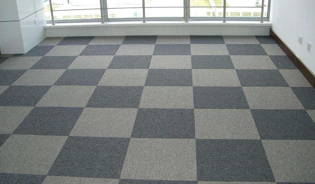 Image of: The Perfect Match For Modular Carpet Tiles And Office Raised Access Floor Solutions