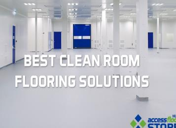 Best Clean Room Flooring Solutions - Anti-Static Raised Floor, Self-Leveling Floor, ESD Vinyl Floor, Terrazzo Floor