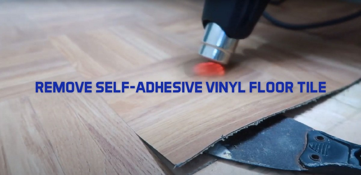 How To Remove Self Adhesive Vinyl Floor Planks Peel And Stick Pvc Tiles