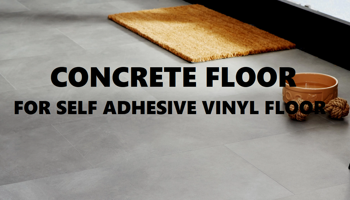 How To Prepare Concrete Floor For Self Adhesive Vinyl Tiles Peel And Stick Pvc Floor Tiles