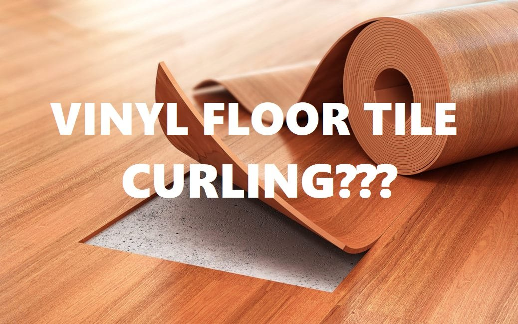 How To Fix Loose Or Curling Self Adhesive Vinyl Floor Tiles Peel And Stick Pvc Floor Tiles