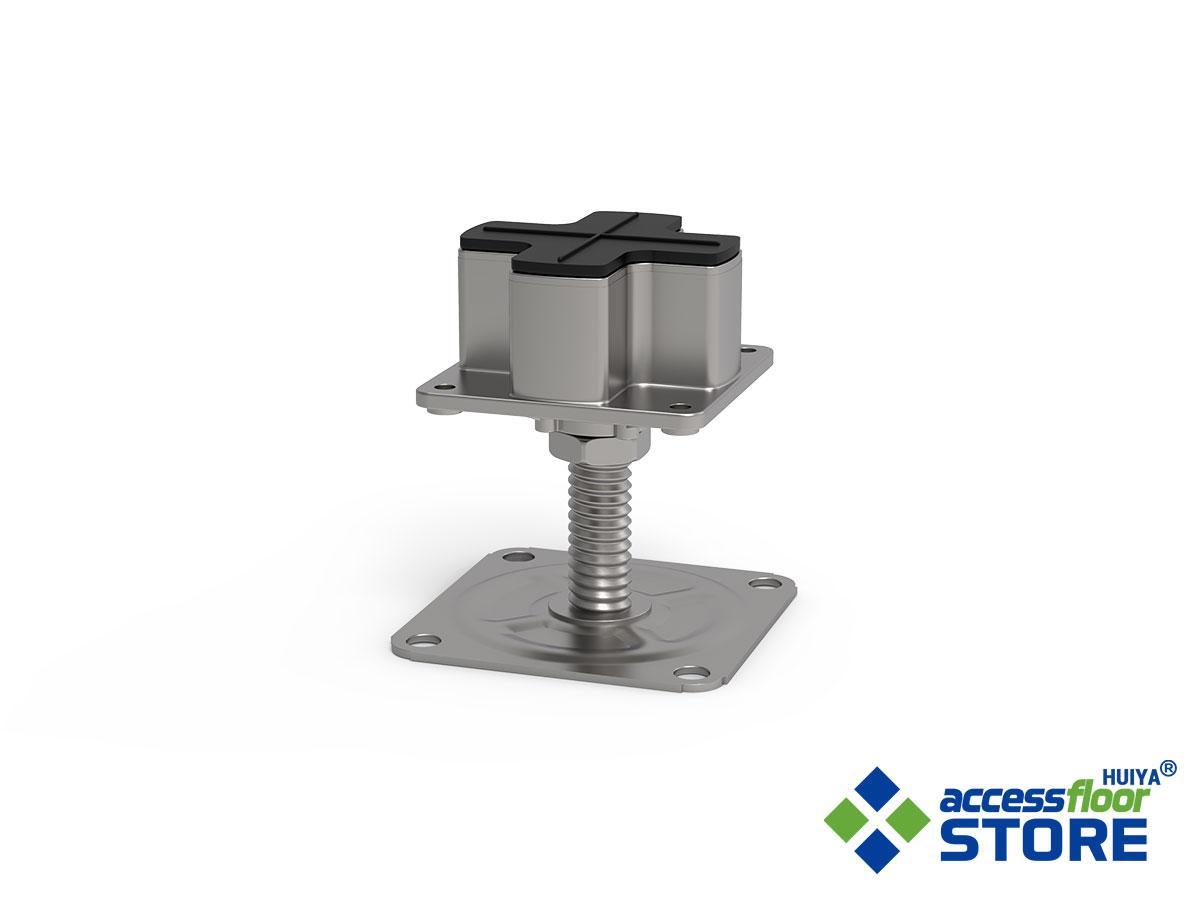 Low Profile Raised Access Floor Pedestal