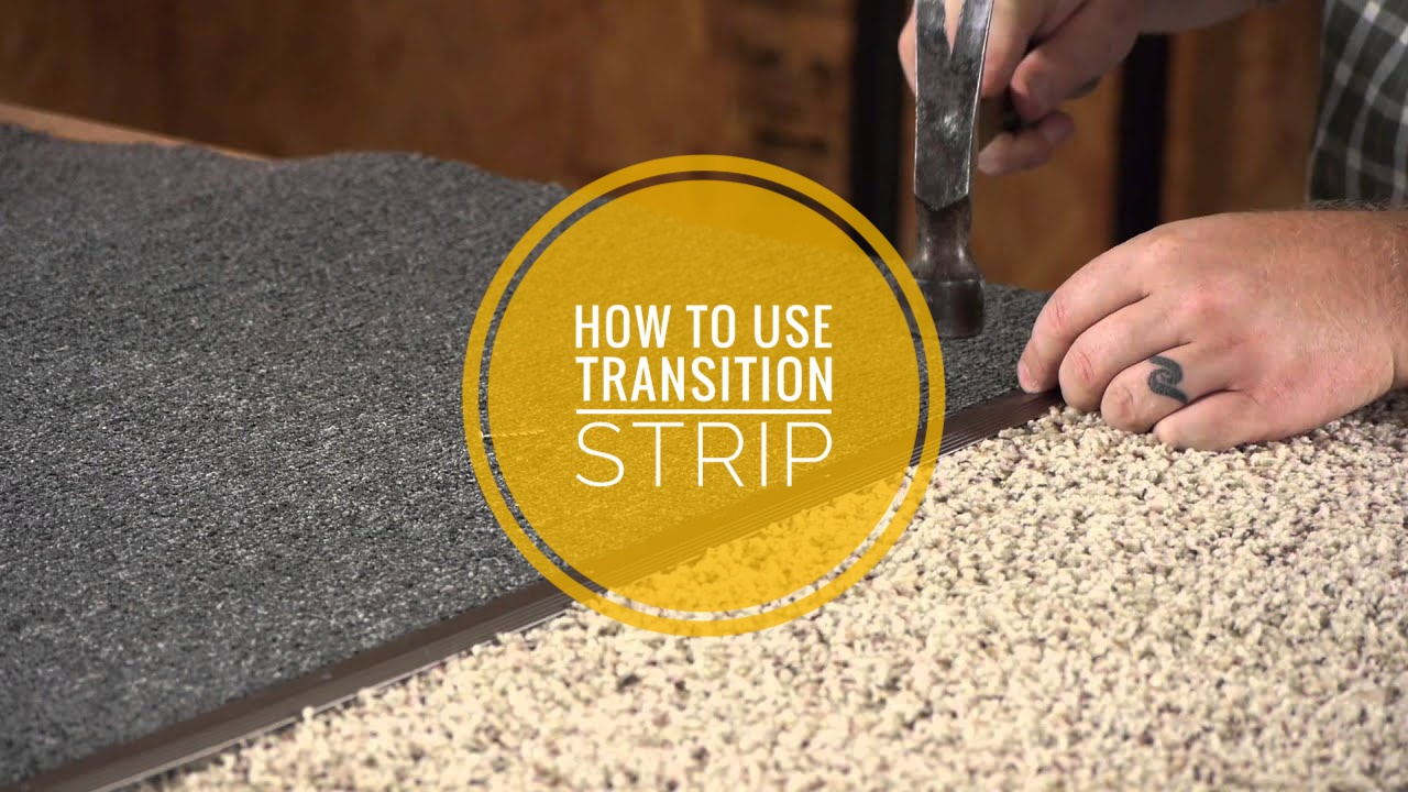 how to transition from carpet to tile